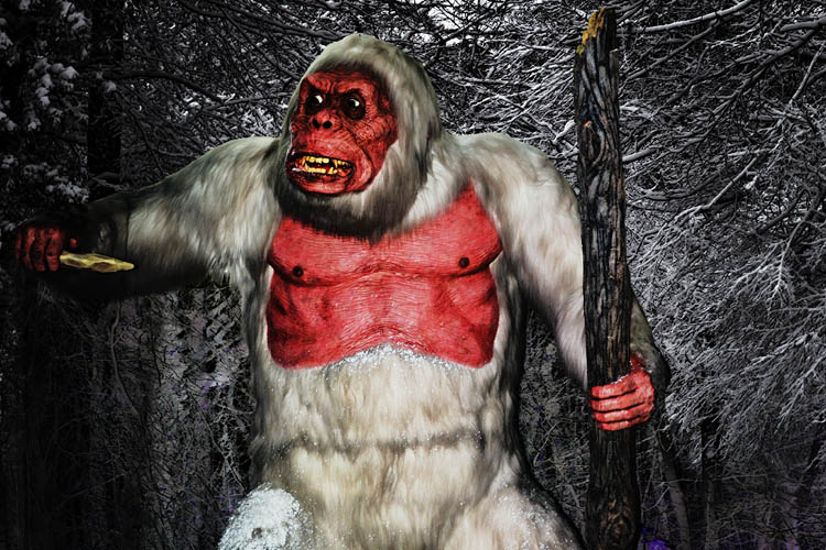 Agry Mythical Creature the Yeti