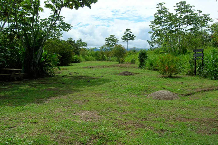 Costa Rica Stone Spheres in a Plantation
