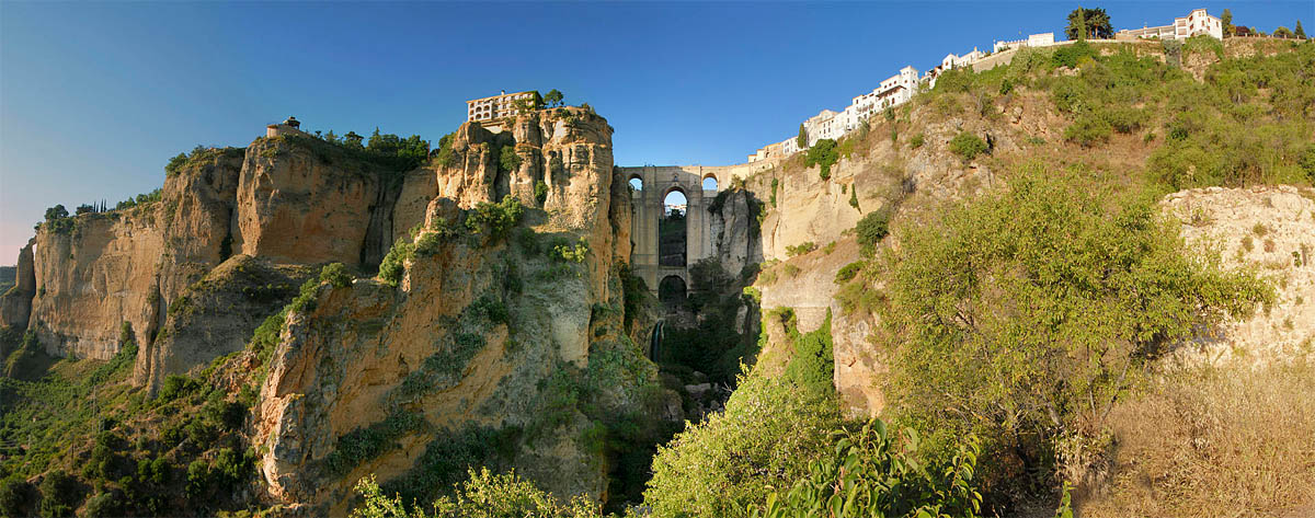 The Cliffs of Ronda in Spain