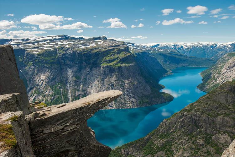 Trolltunga Rock Norway