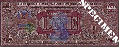 Dollar Bill Secret Markings