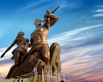 african-renaissance-statue