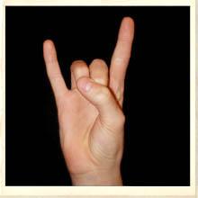 Longhorn Gesture