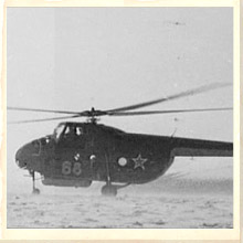 Dyatlov Pass - Helicopter in Snow