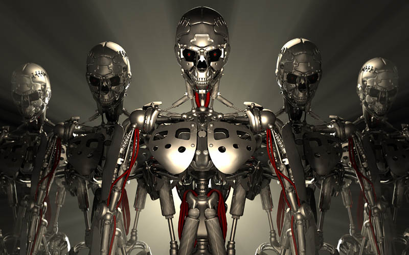 End of World Predictions Robots