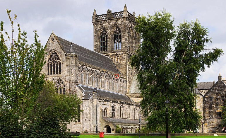 Paisley Abbey Alien Gargoyle Location