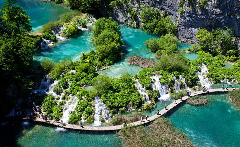 Plitvice Lakes National Park Hiking