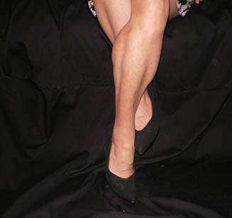 Legs Entwined - Shoe Signals