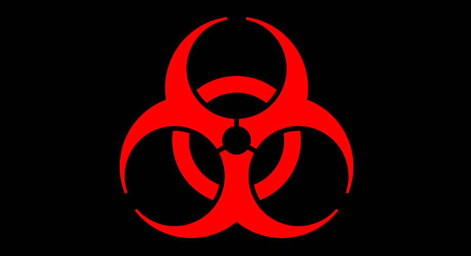 Biohazard Symbol Aquiziam