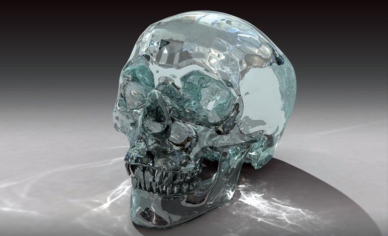 Weird Skull Crystal