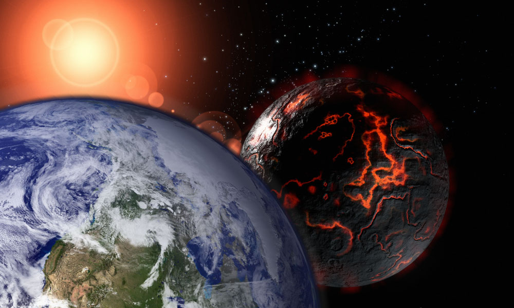 Nibiru Close to Earth