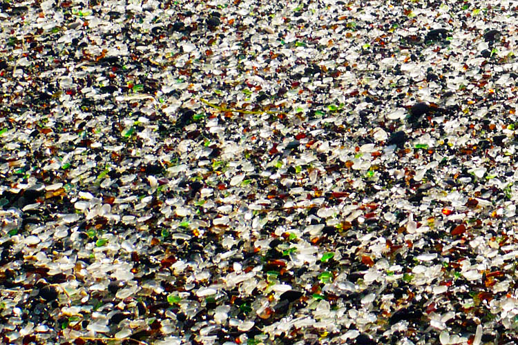 Glass Beach of Fort Bragg | California