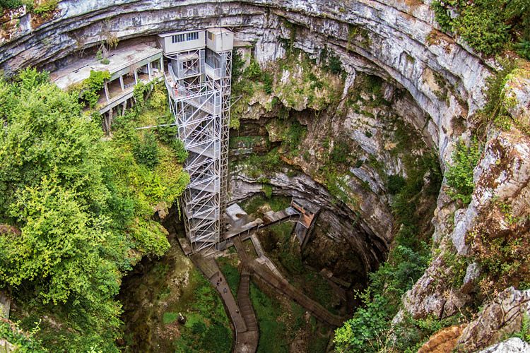 Padirac Chasm & Sinkhole