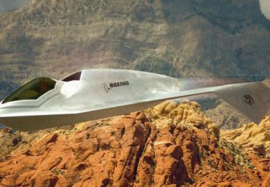Boeing UFO Plane