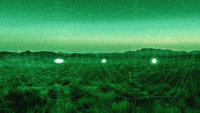 Marfa Lights 2015 Night Vision