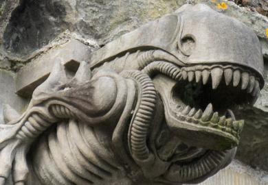 Alien Gargoyle of Paisley Abbey