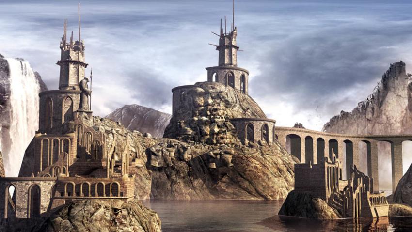 Atlantis Lost City Ruins
