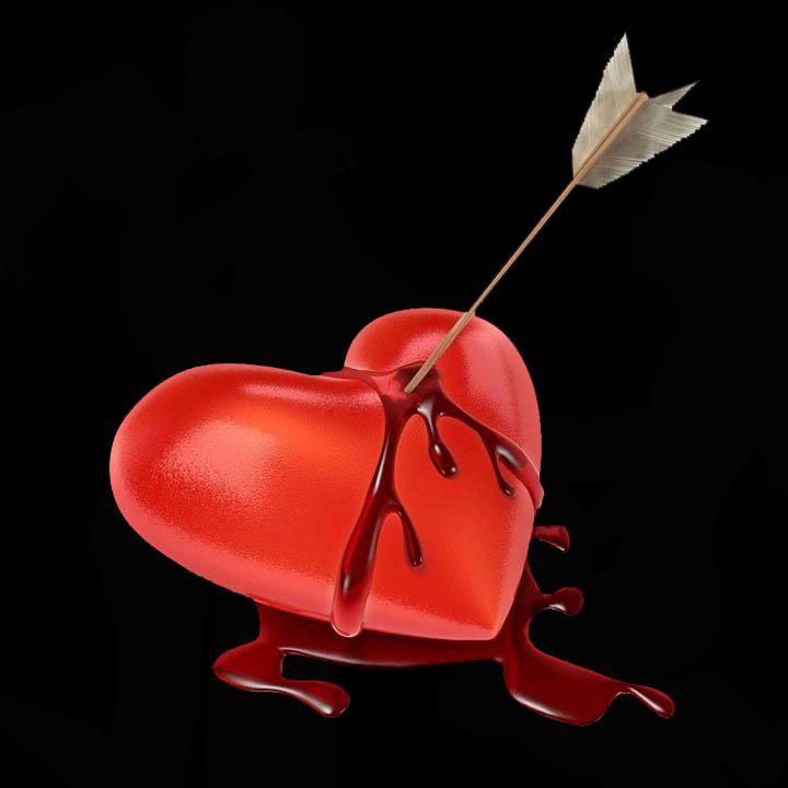 Broken Bleeding Heart – Loss of Virginity