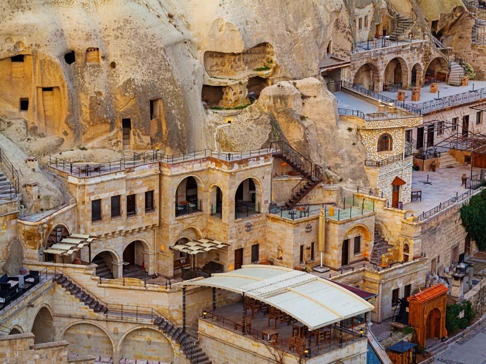 Cave Hotels in Goreme, Capadokkia