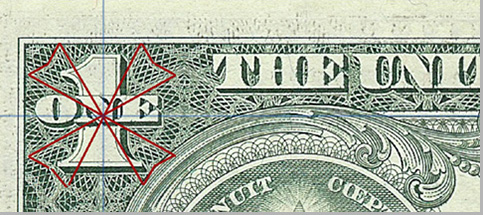 Dollar Bill / Maltese Cross / Knights Templar