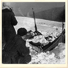 Dyatlov Pass Damaged Tent