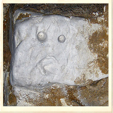 Shocked Face Carving of the Hellfire Caves