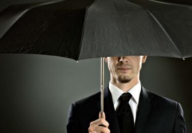 The JFK Umbrella Man