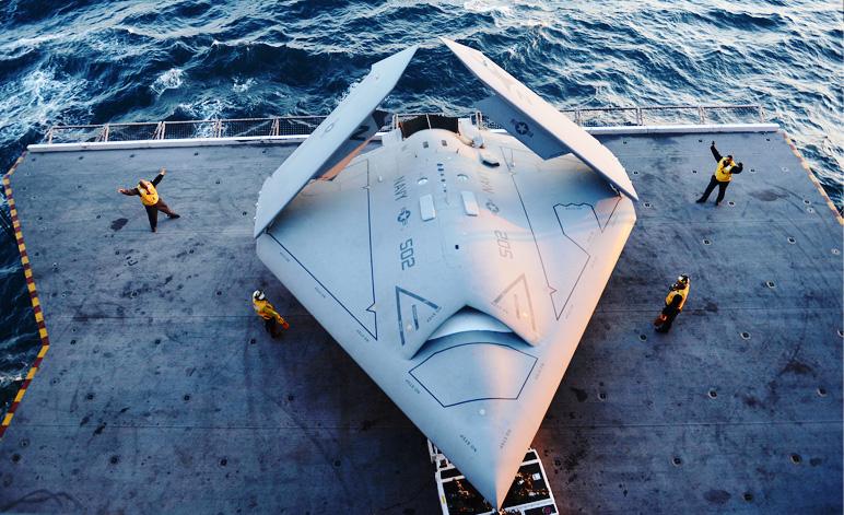 Navy X 47b UFO Plane