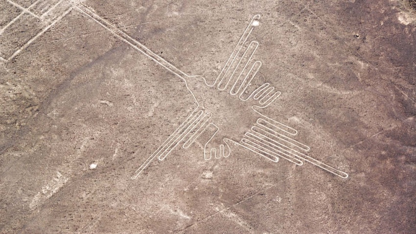 Nazca Lines Google Earth