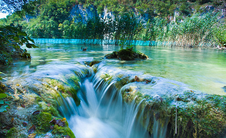 Plitvice Lakes National Park Falls