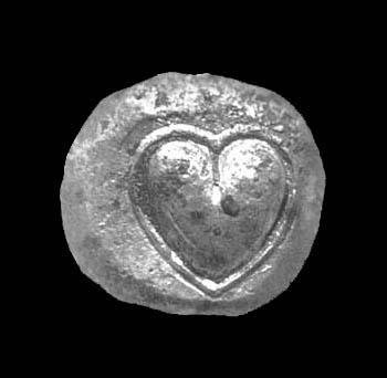 Silphium Coin Heart Shaped