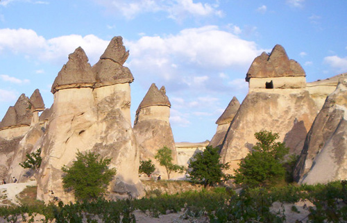 Strange Homes Cappadocia