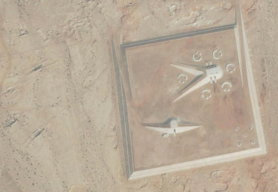 Strange structures inthe Egyption Desert