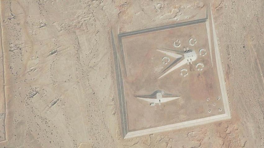 Strange structures inthe Egyption Desert