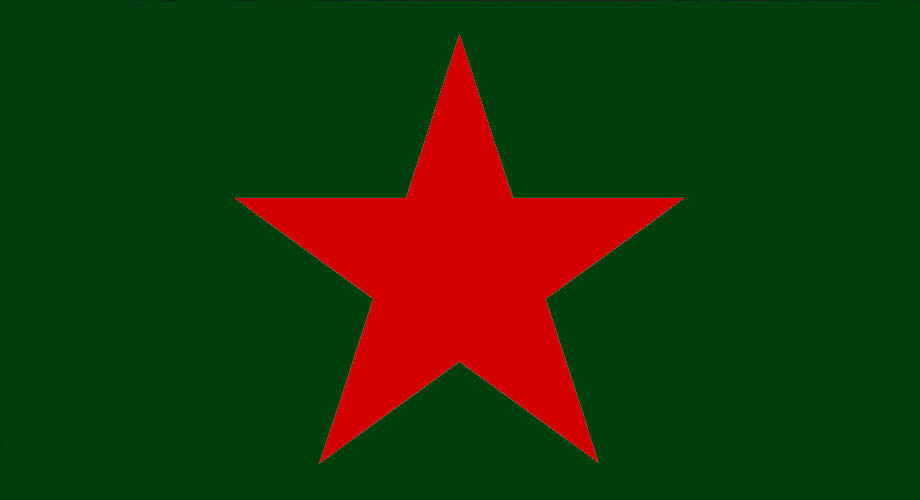 Soviet Red Star Symbol Aquiziam