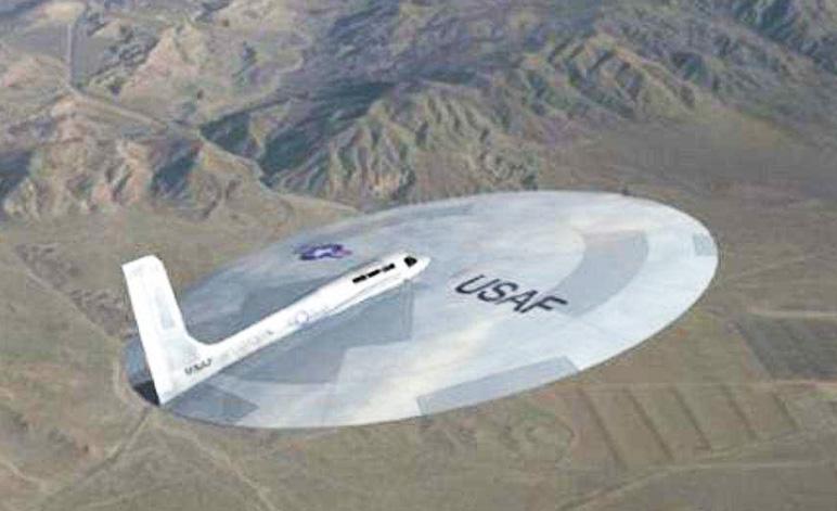 USAF Saucer Plane