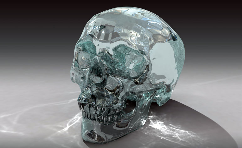 Weird Skull Crystal