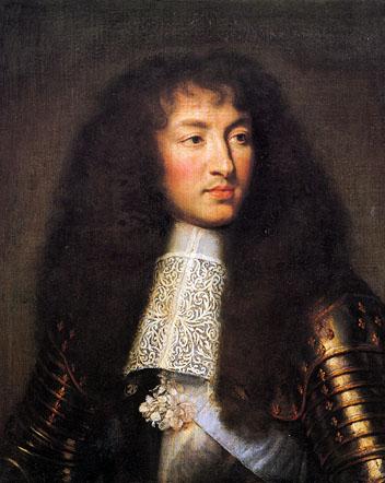Curse of the Hope Diamond - King Louis IV