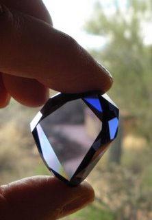 Replica of the original Tavinier Blue Diamond